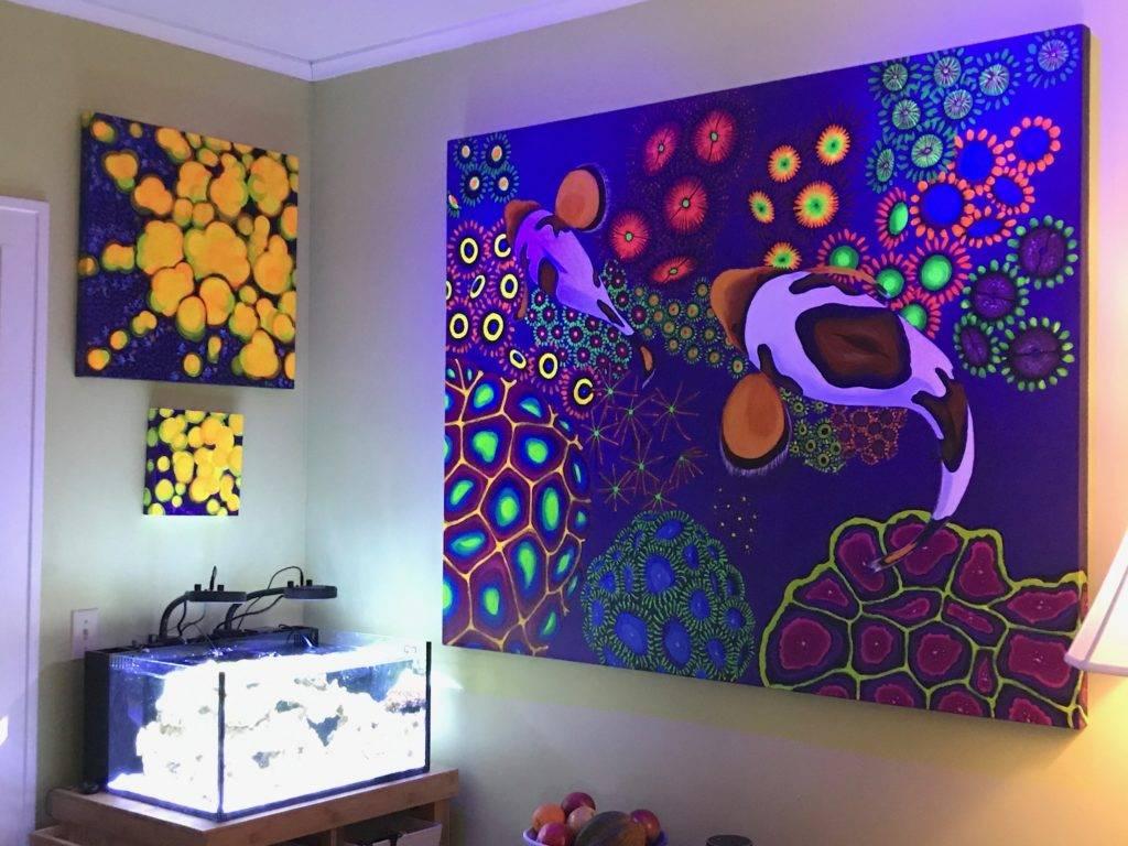 rachel fogle reefweeds reef koi series