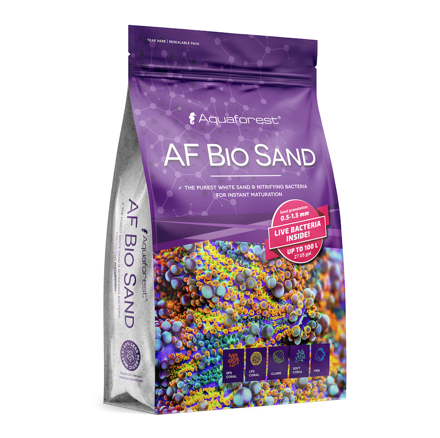 AF Bio Sand is a totally different take on Live Sand