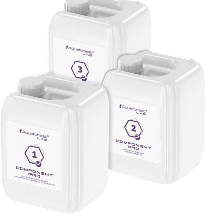 Components Pro from Aquaforest is twice the strength of Component 1+2+3+