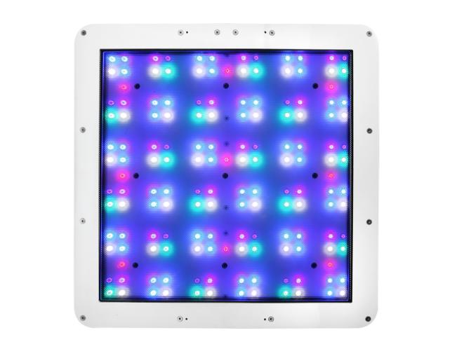 The underside of an ATI Straton aquarium LED light