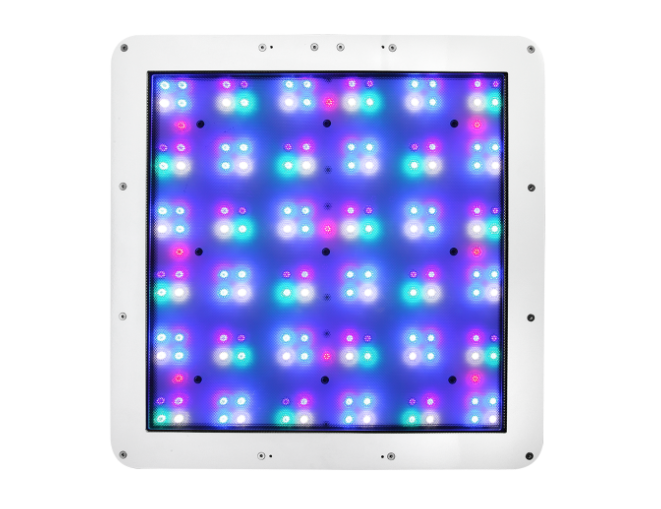 Underside of the ATI Straton LED light