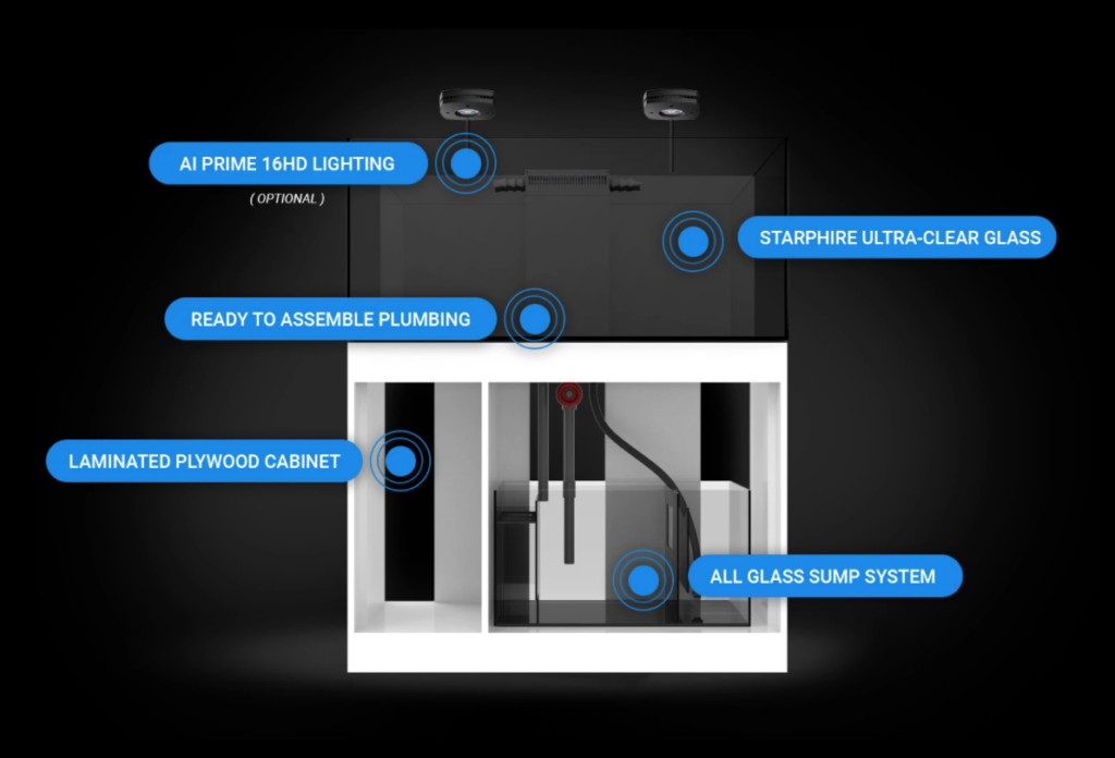 Waterbox Marine X features