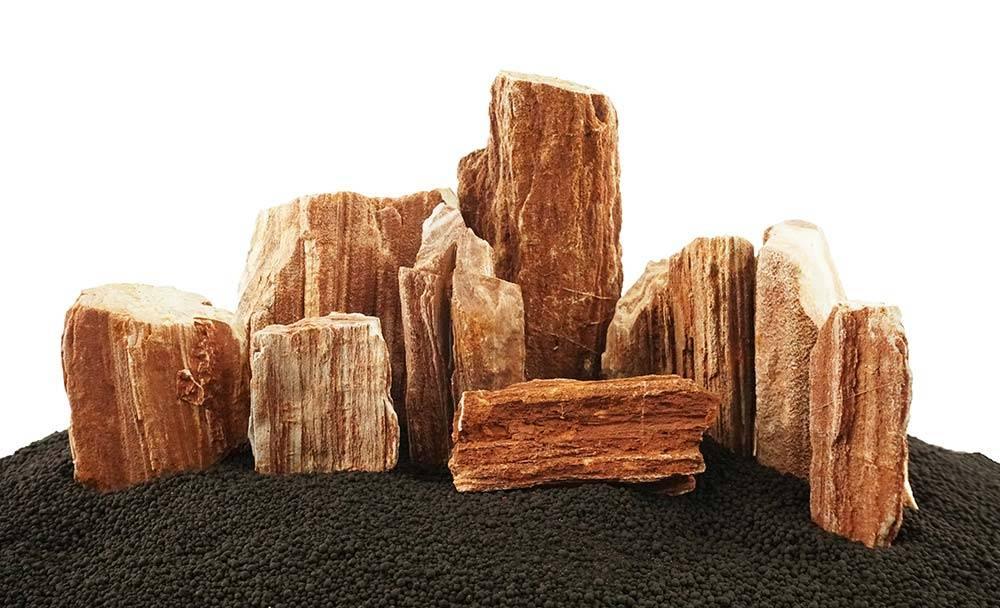 LifeGard Aquatics Petrified Red Wood Stone