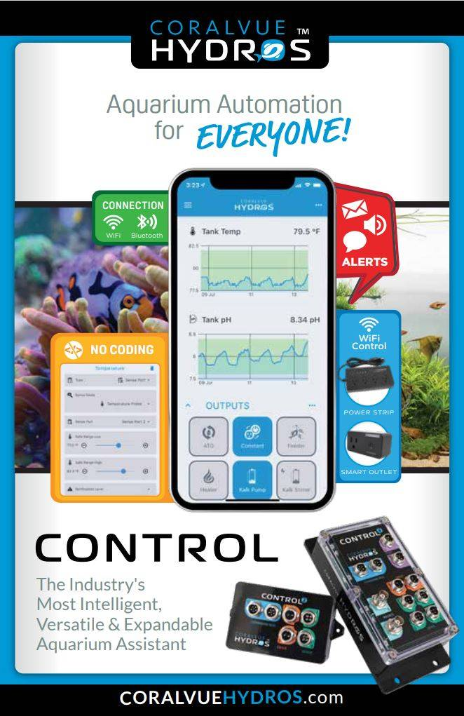 Hydros Controller by Coralvue