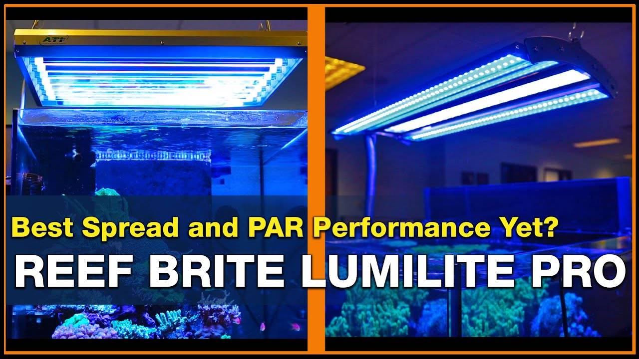 BRStv Investigates Reef Brite LumiLite Pro LED Strip Lights