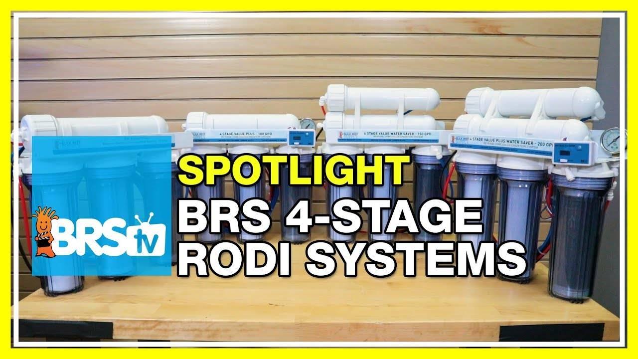 BRS 4 Stage RODI System Spotlight - BRStv