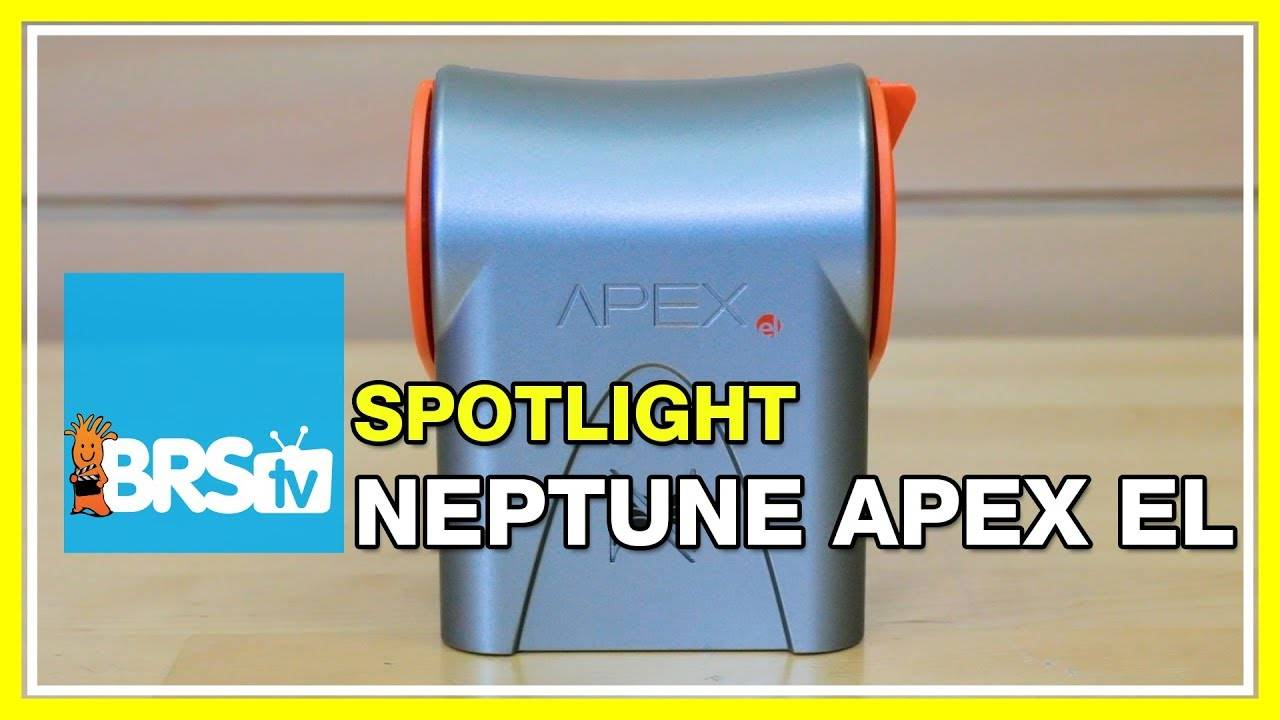 Neptune System's ApexEL Entry Level Aquarium Controller - BRStv