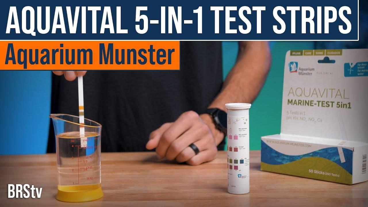 BRStv Product Spotlight - Aquarium Munster Aquavital Marine Test 5-in-1