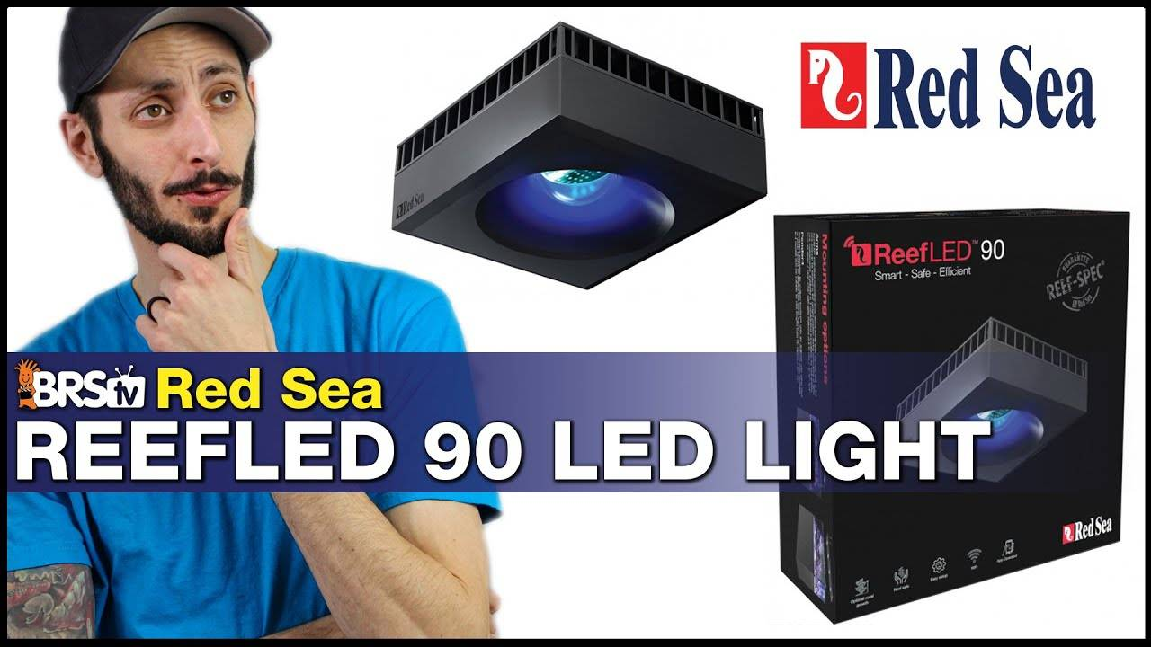 Red Sea ReefLED 90: Reef-Spec tank lighting made simple, easy and affordable!