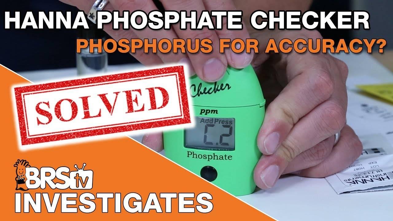 BRStv Investigates: Which is better, Hanna Phosphate or Phosphorus Checker?
