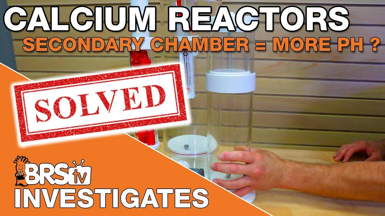 Do secondary calcium reactor chambers scrub excess CO2 & increase effluent pH? - BRStv Investigates