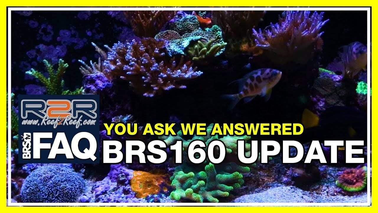 R2R FAQ: An in-depth Q&A session about the BRS160 update.