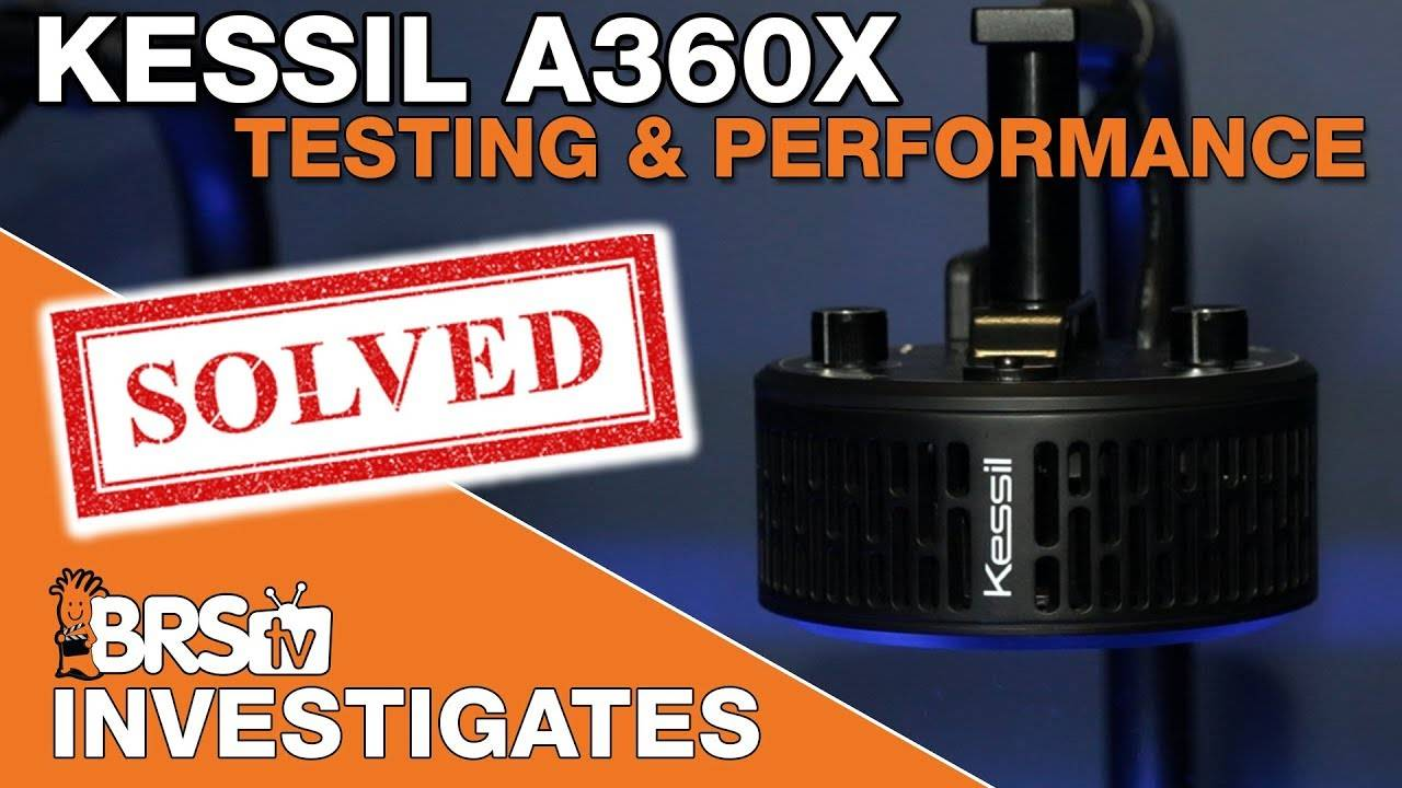Going well beyond the bullet points of the Kessil A360X LED. | BRStv Investigates