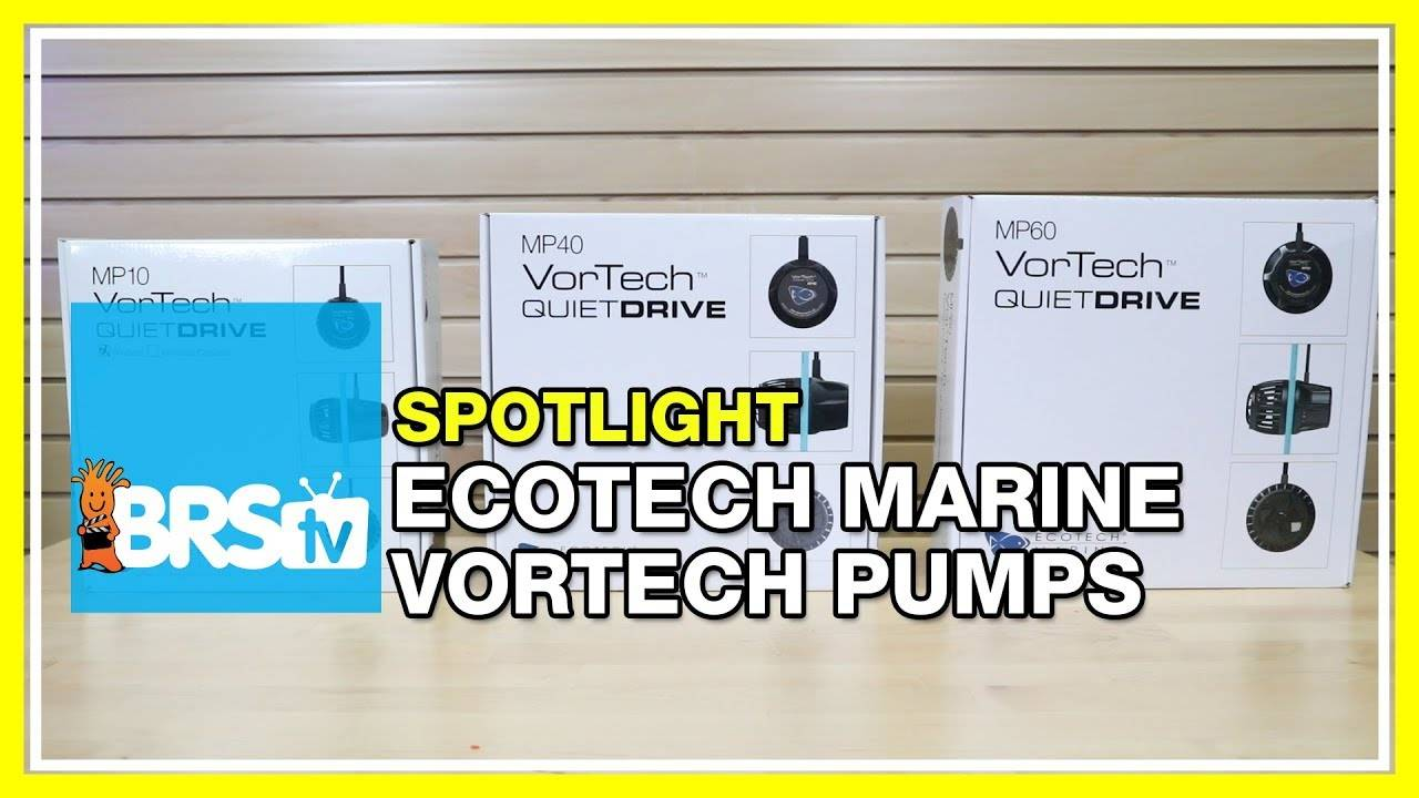 Increase flow in your reef tank with VorTech pumps from EcoTech Marine - BRStv