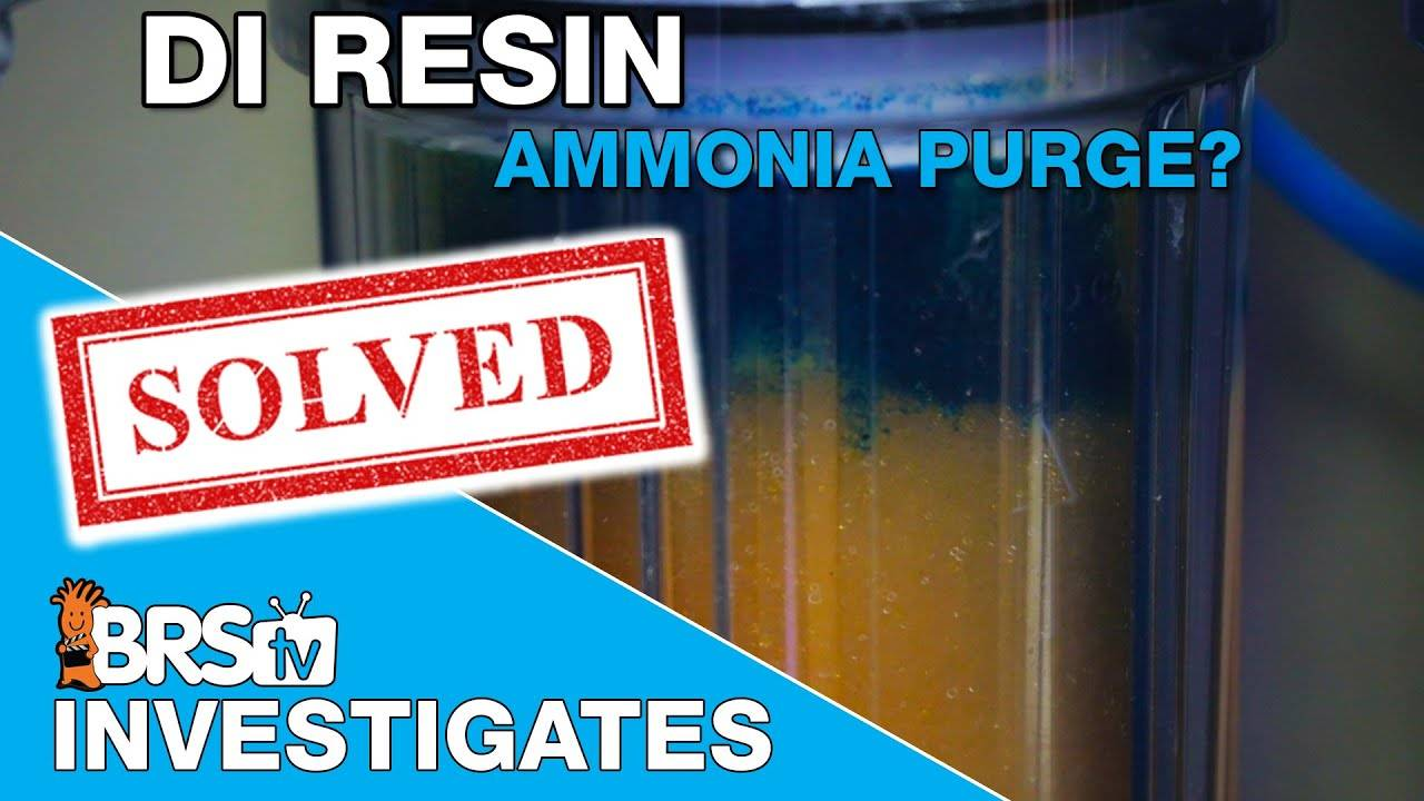 What happens to ammonia and silica when DI resin is depleted? - BRStv Investigates