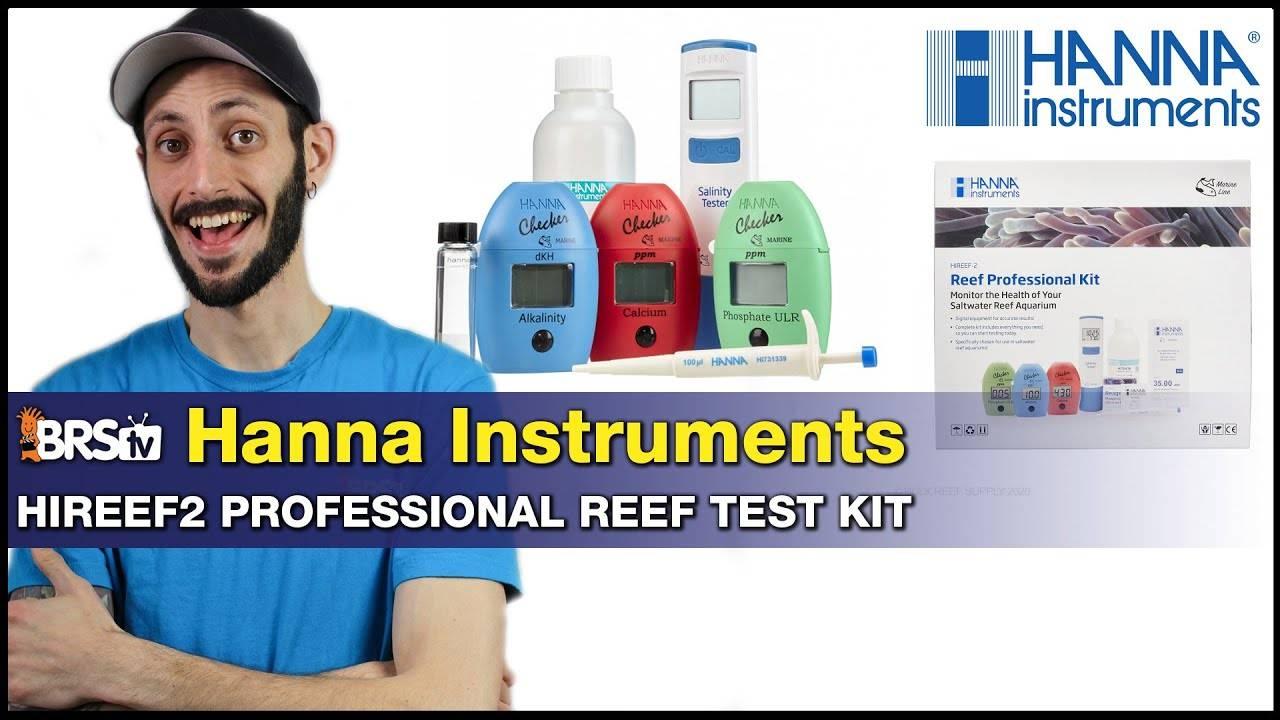 Hanna HIREEF2 Pro Test Kit: All the best Hanna Testers, bundled!