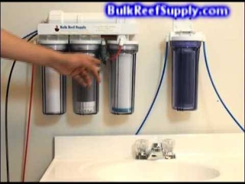 5 Stage RO/DI Chloramines System Demo