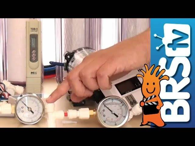 RO Upgrades - Pressure Gauges, Meters, and Flush Kits