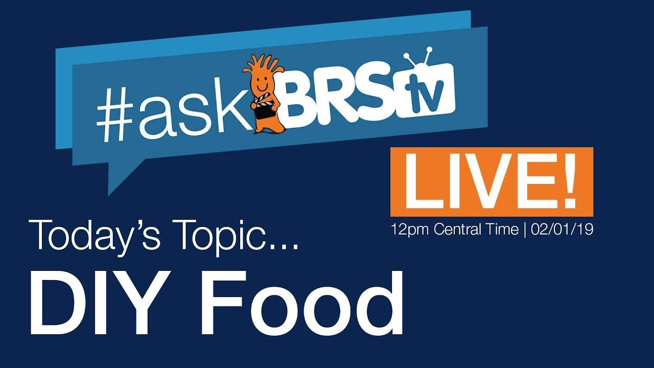 DIY fish food 101! - #AskBRStv Live