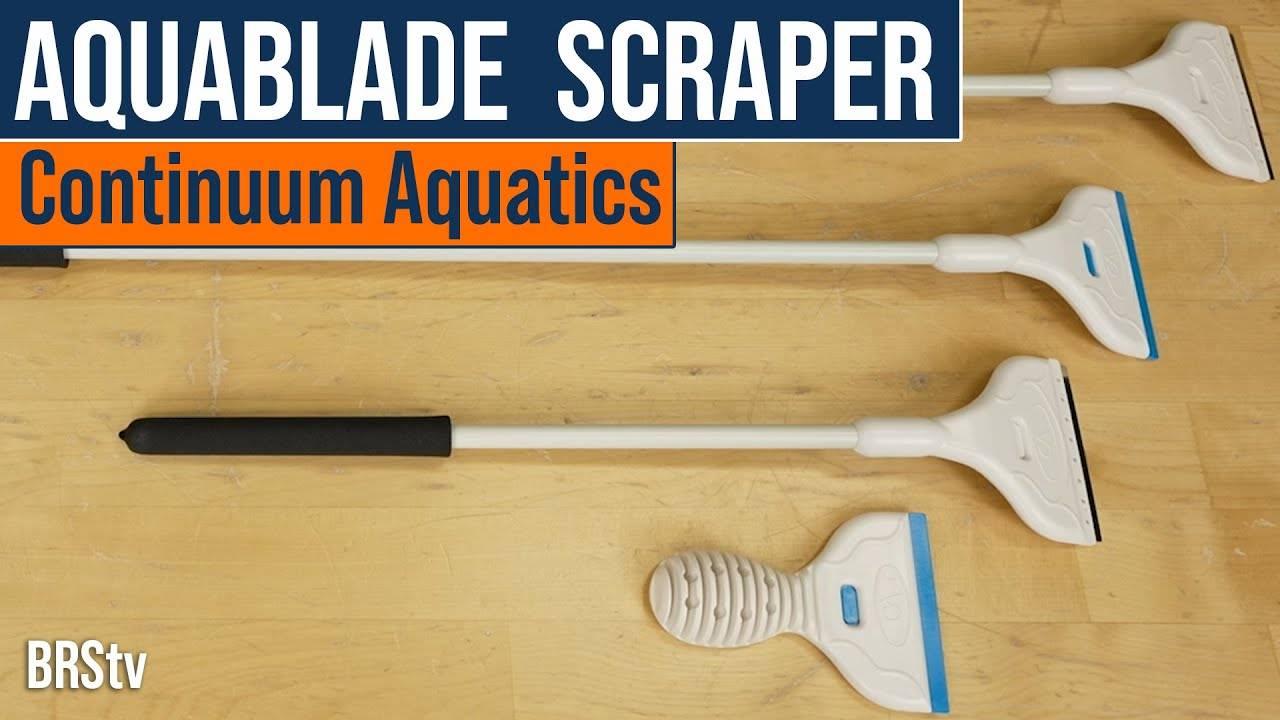 BRStv Product Spotlight - Continuum Aquatics AquaBlade Algae Scrapers