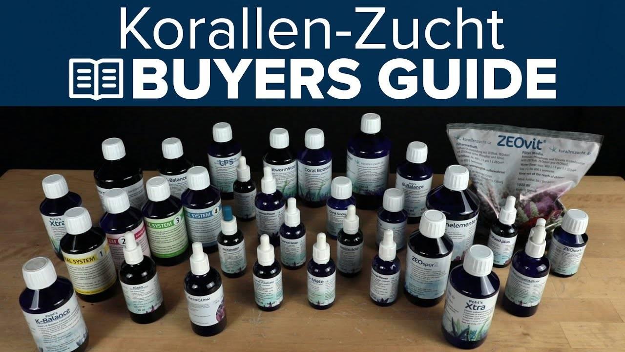 Watch Video - BRStv Buyer'sGuide To Korallen Zucht Additives