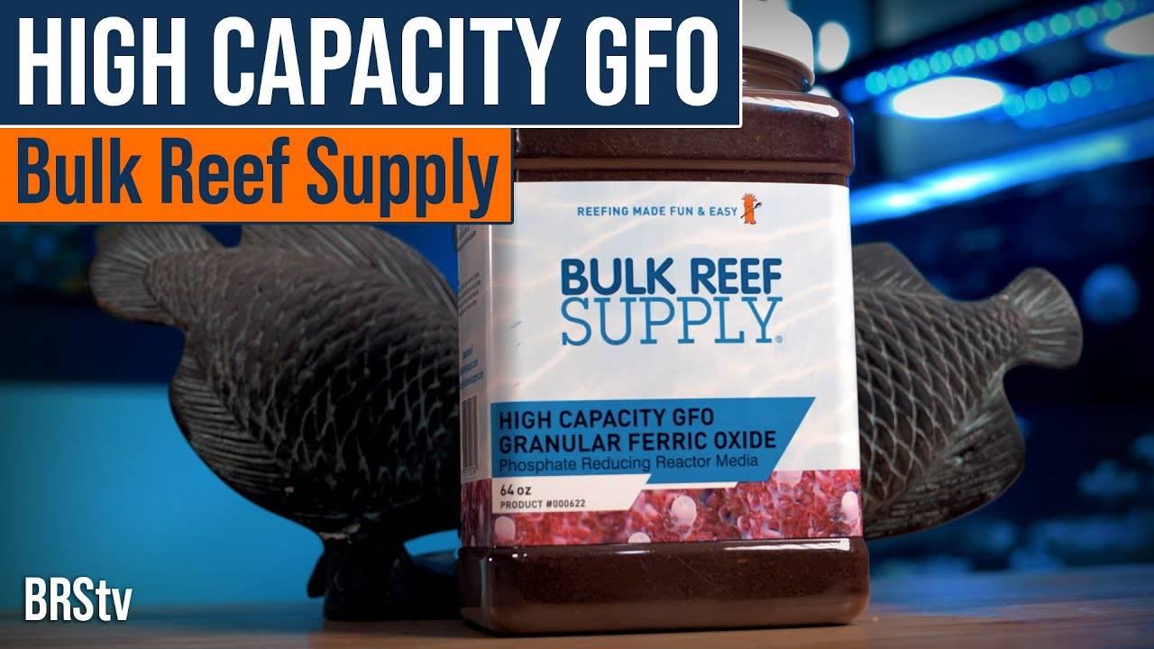 BRStv Product Spotlight Bulk Reef Supply High Capacity GFO Filter Media