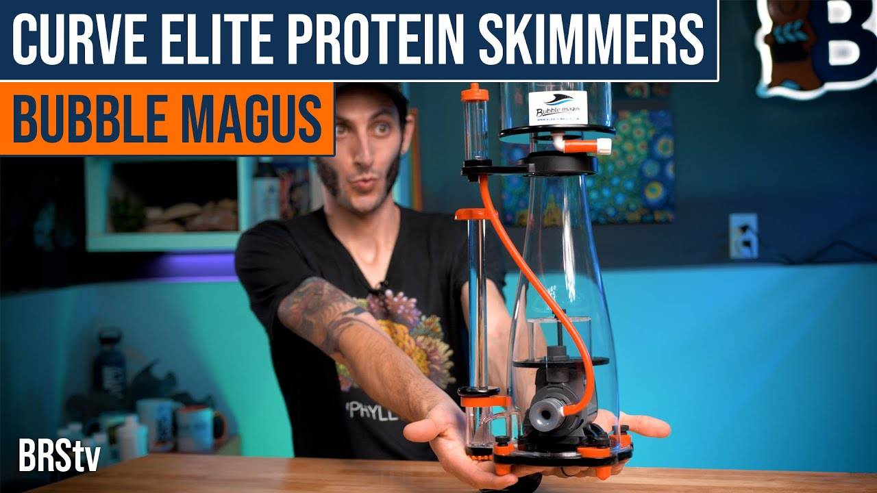 Watch Video BRStv Product Spotlight - Bubble Magus Curve Elite Series Protein Skimmers