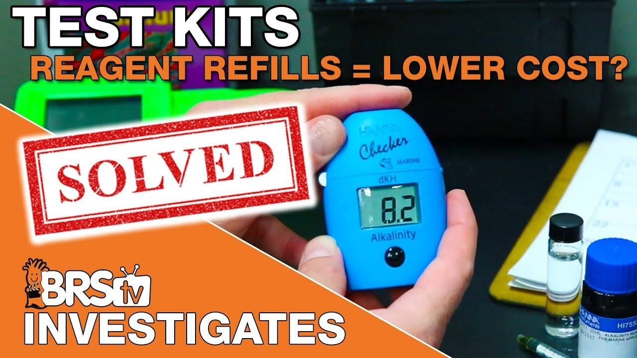 BRStv Investigates: Are test kit reagent refills lower cost in the long run?