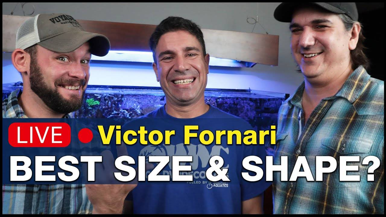 Ep6.1 - Talking reef tank size and shape w/ Victor Fornari (WWC Co-founder) | BRS360