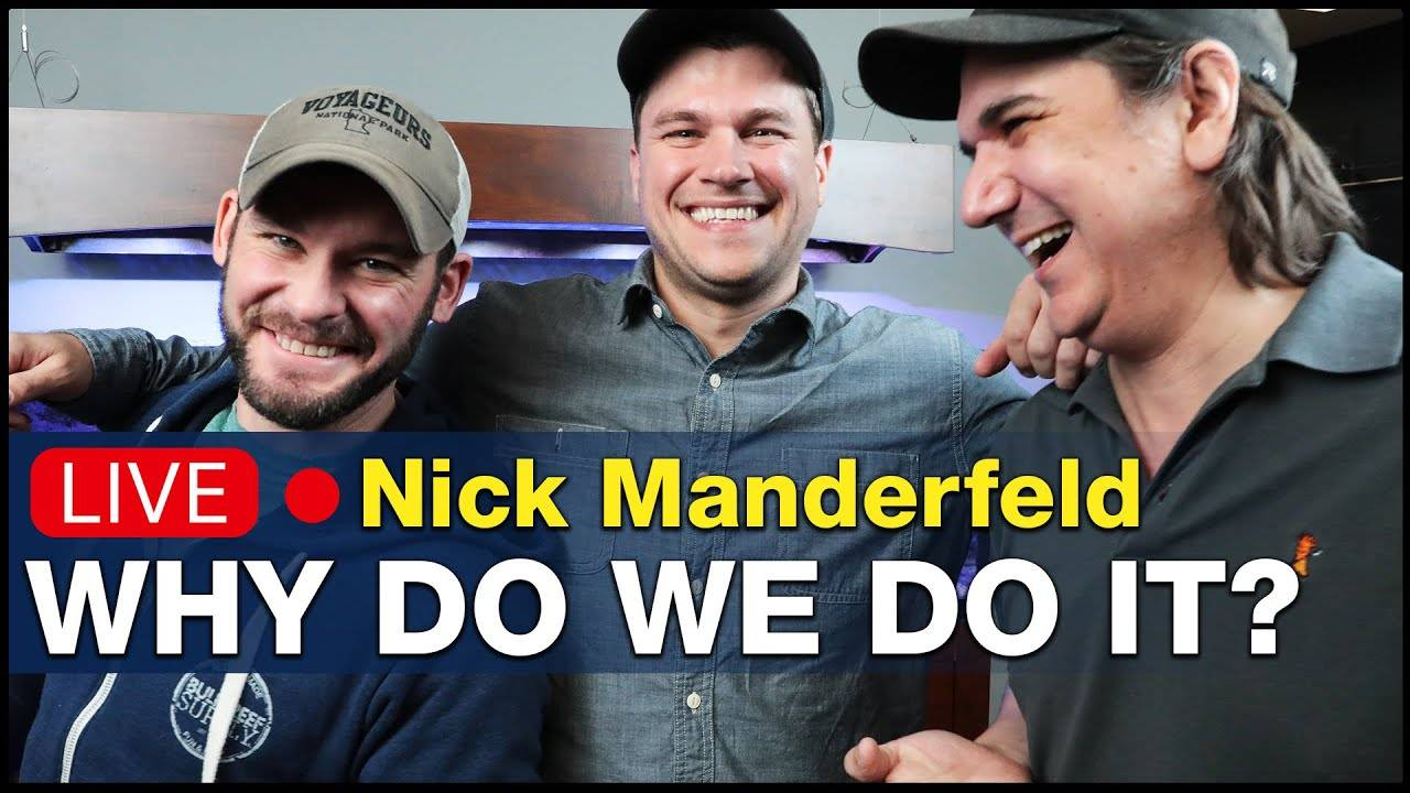 Ep.8.1 - Talking reef tank themes that won't make you bored w/ Nick Manderfeld from BRS! | BRS360