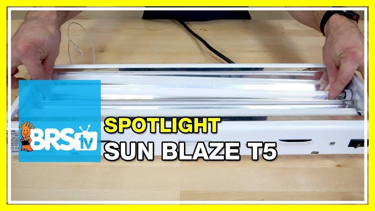 Spotlight on the Sun Blaze T5 fixture as a refugium light - BRStv