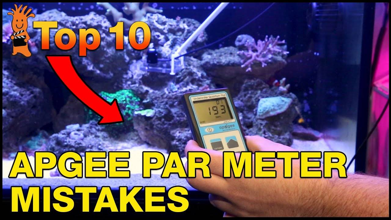 Top Mistakes When Using An Apogee PAR Meter