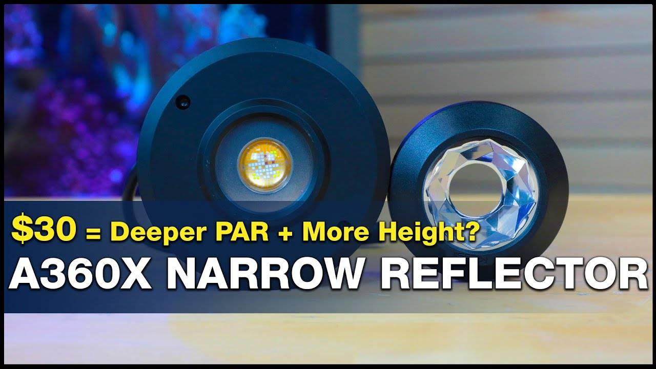 "Can you change your reef light's ""optimal"" mounting height? How about more PAR deeper in your tank?"