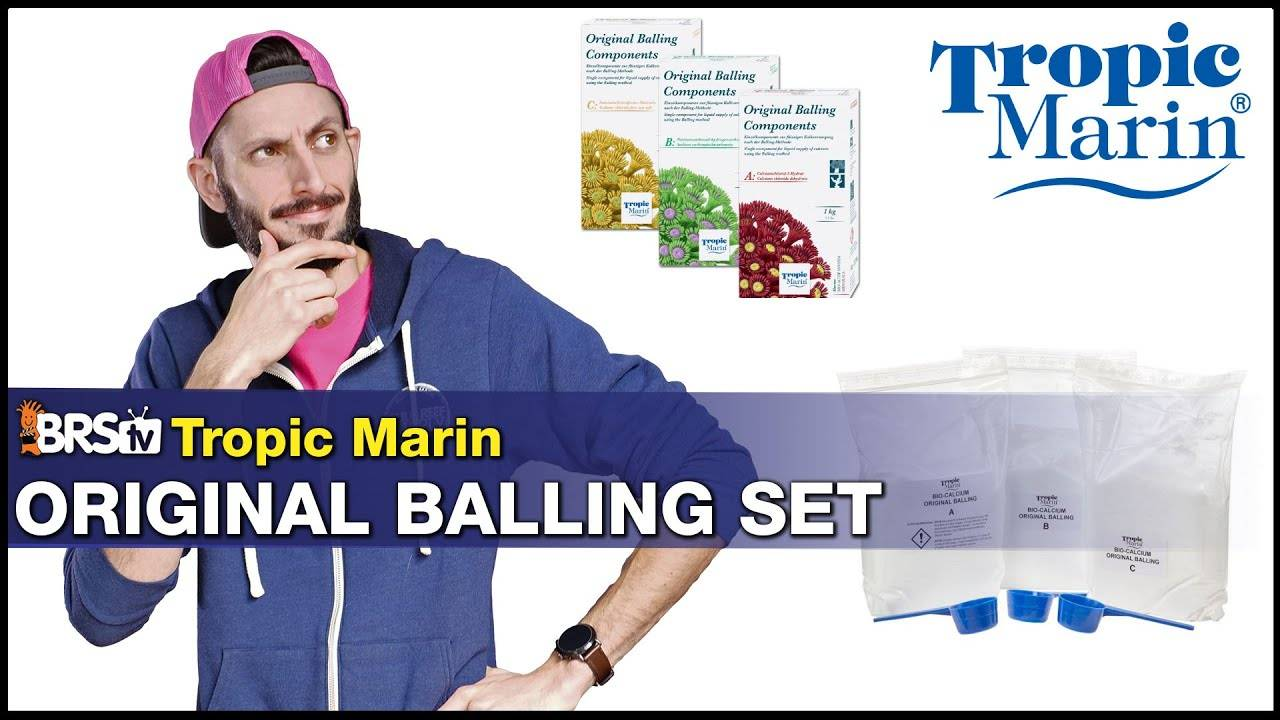BRStv Product Spotlight - Tropic Marin Balling Method