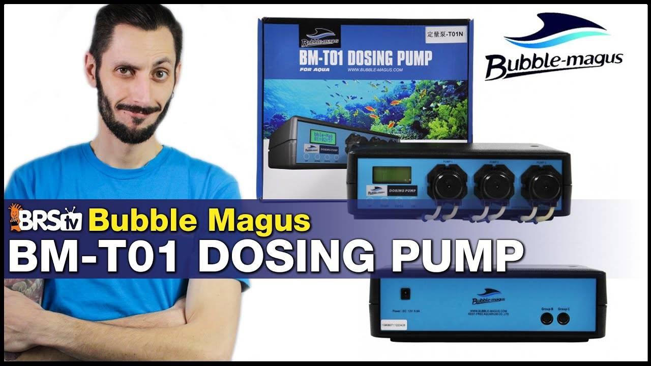 BRStv Product Spotlight - Bubble Magus BM-T01 Dosing Pump