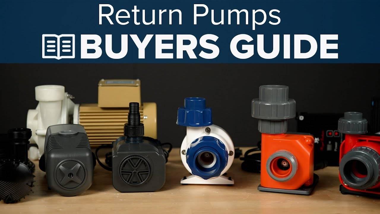 Watch Video - BRStv Buyer's Guide To Return Pumps