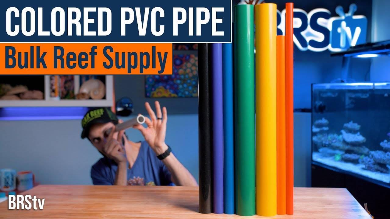 BRStv Product Spotlight - Colored PVC Pipe