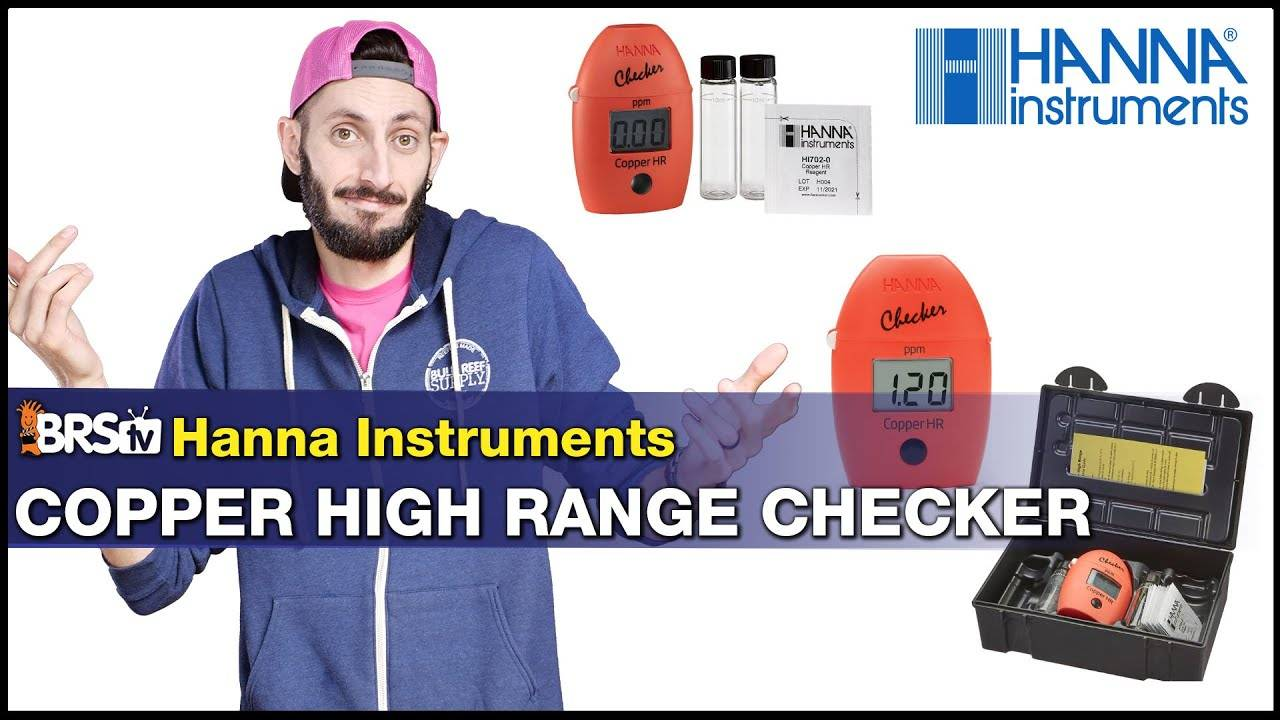 BRStv Product Spotlight - Hanna Instruments High Range Copper Checker Colorimeter