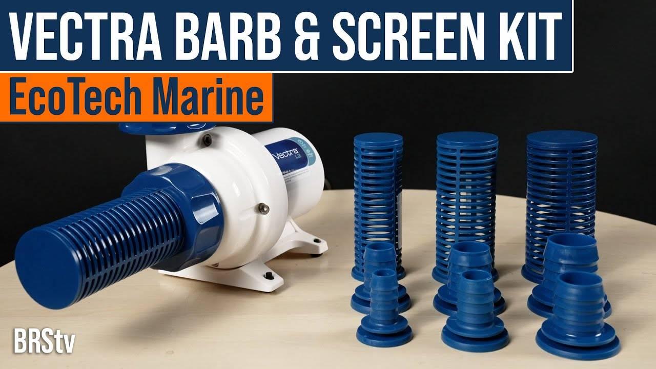 Watch Video - BRStv Product Spotlight EcoTech Marine Vectra Hose Barb And Screen Kit