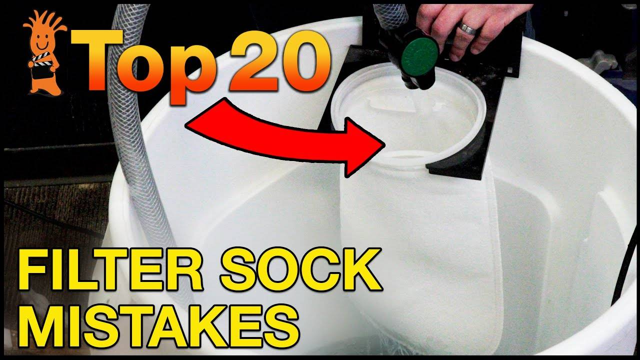 Top 20 Filter Sock Mistakes