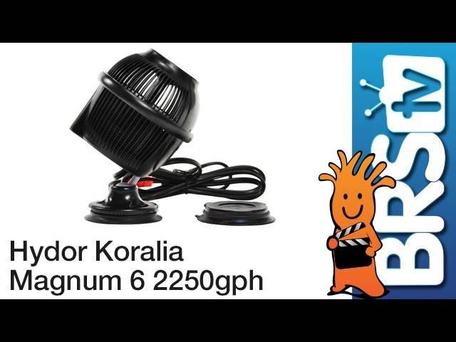 Hydor Koralia Magnum 6 - 2250GPH Flow Dynamics