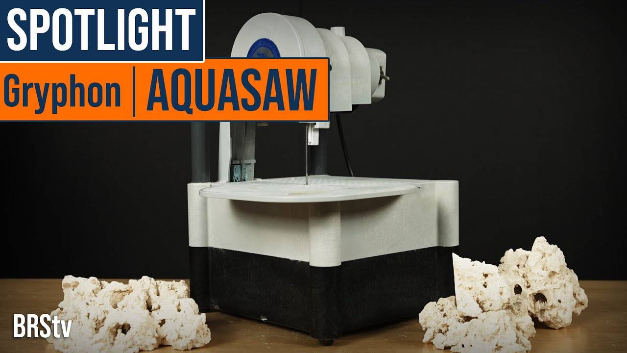 Watch Video - BRStv Product Spotlight Gryphon Aquasaw Coral Bandsaw