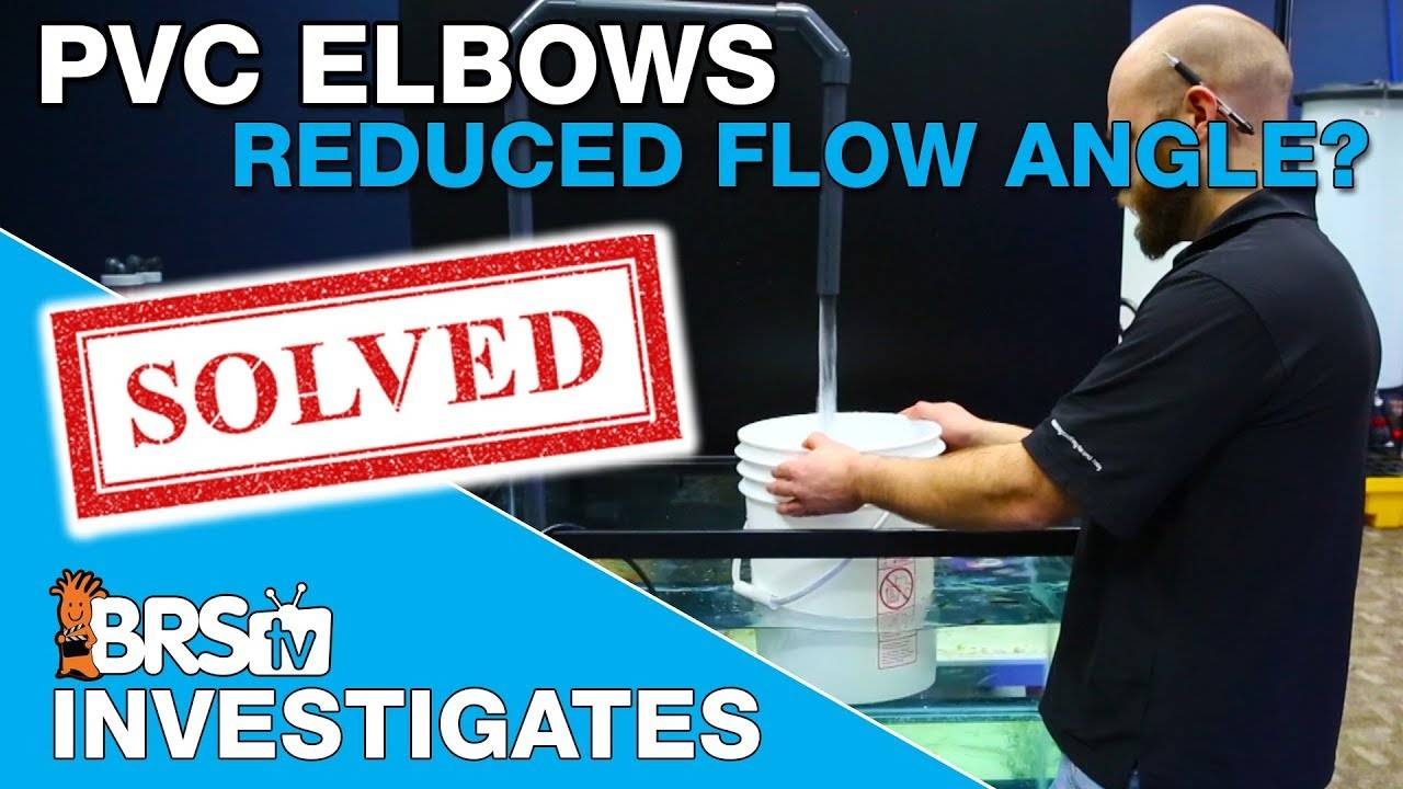 BRStv Investigates: Which reduces more flow, 45 or 90 degree elbows?
