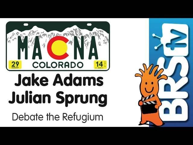 Refugium Debate: Julian Sprung For, Jake Adams Against | MACNA 2014