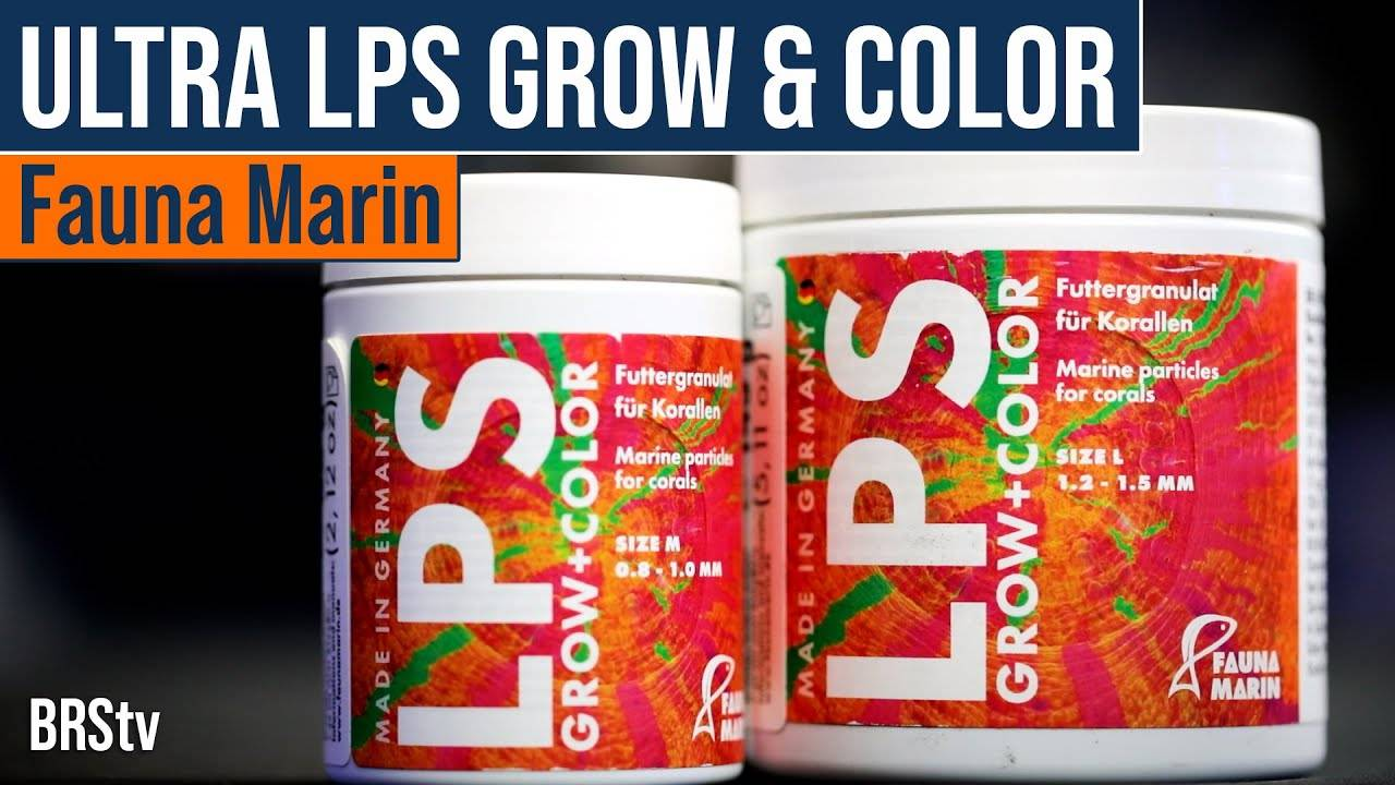 BRStv Product Spotlight - Fauna Marin Ultra LPS Grow & Color Pellets