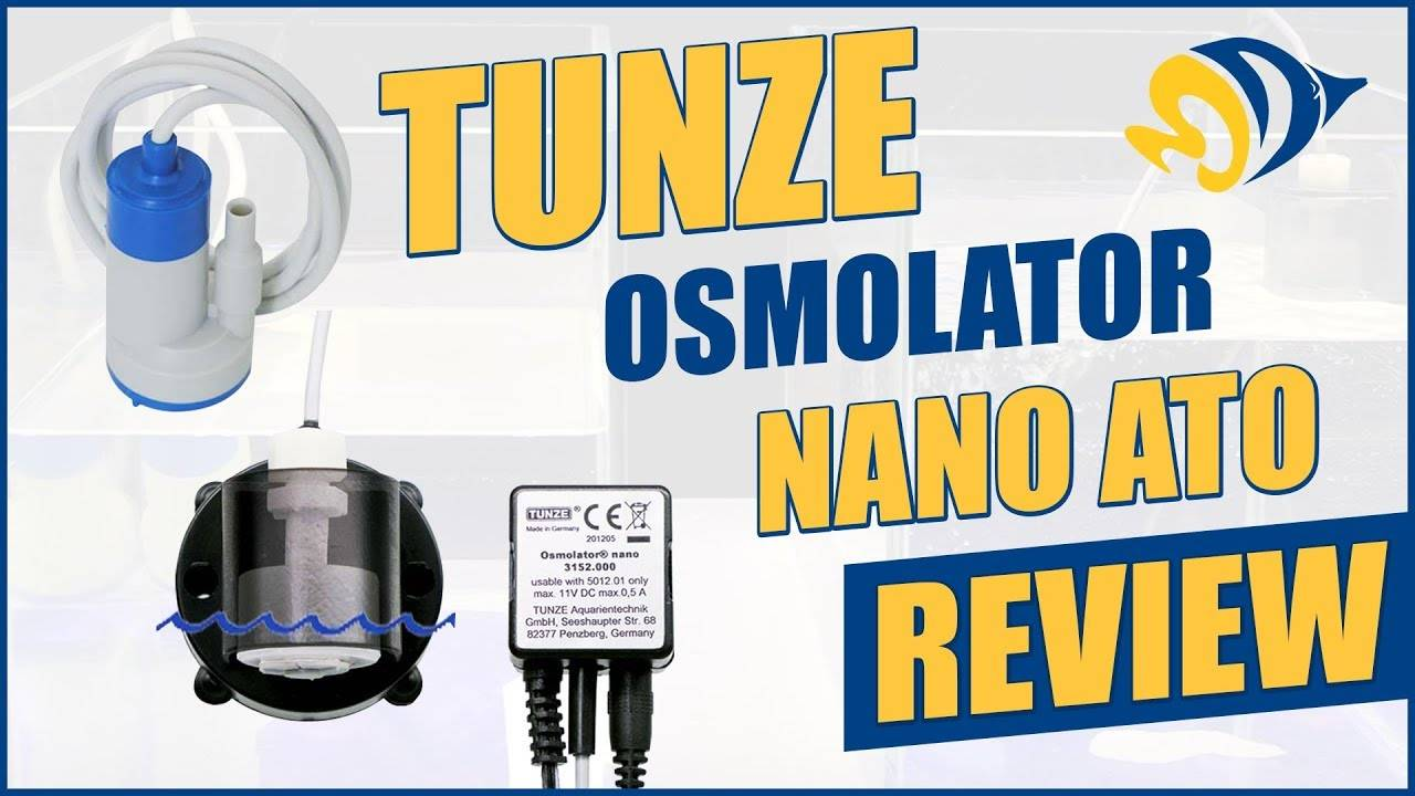 Keep Small Tank Parameters Stable with Tunze's Osmolator Nano 3152 Auto Top Off ATO
