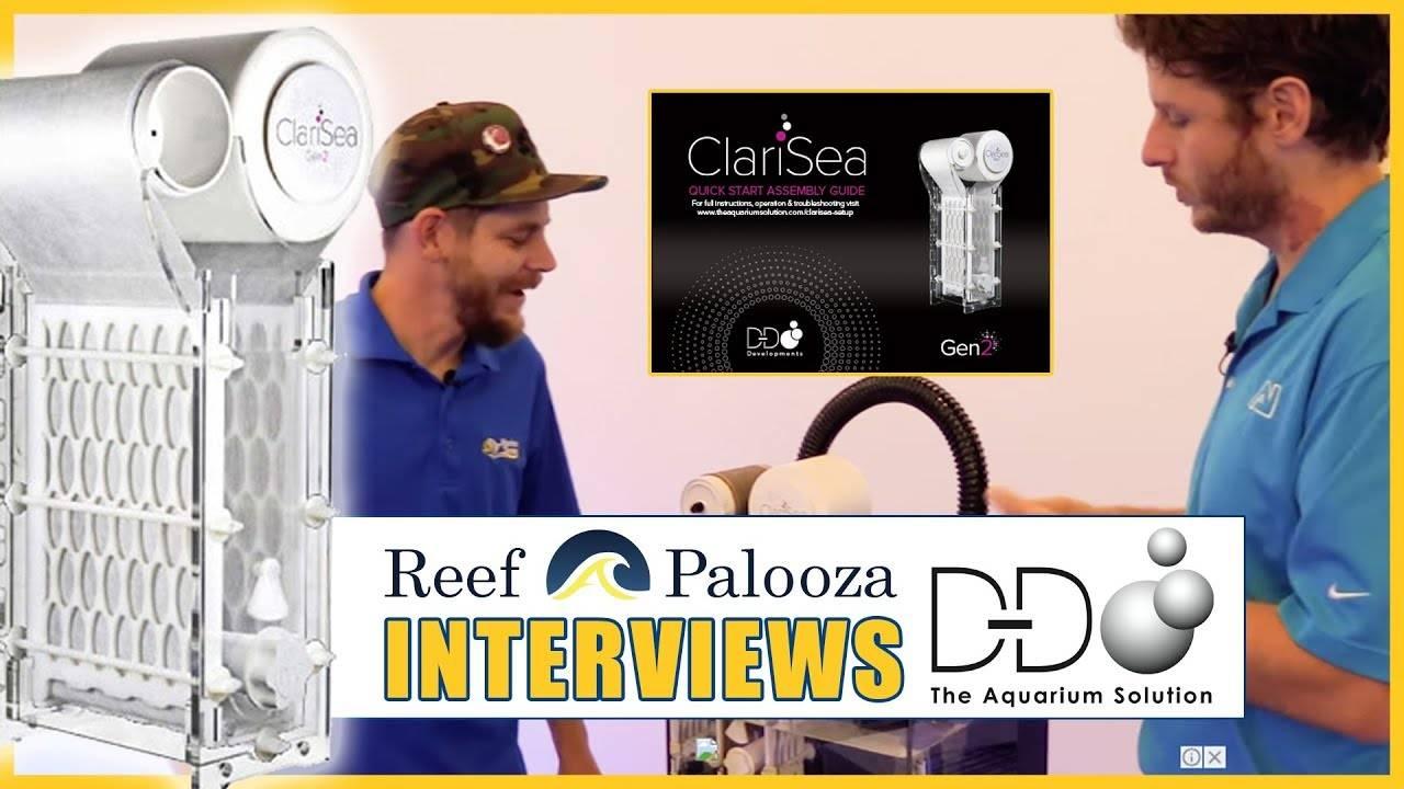 """ClariSea Automatic Fleece Filters = Cleaner Water"