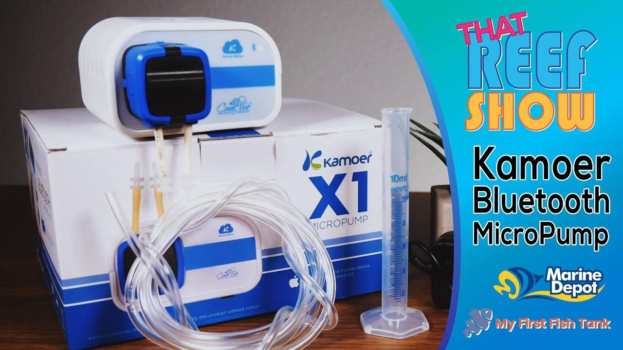 Kamoer X1 Bluetooth Dosing Micropump: That Reef Show Product Spotlight