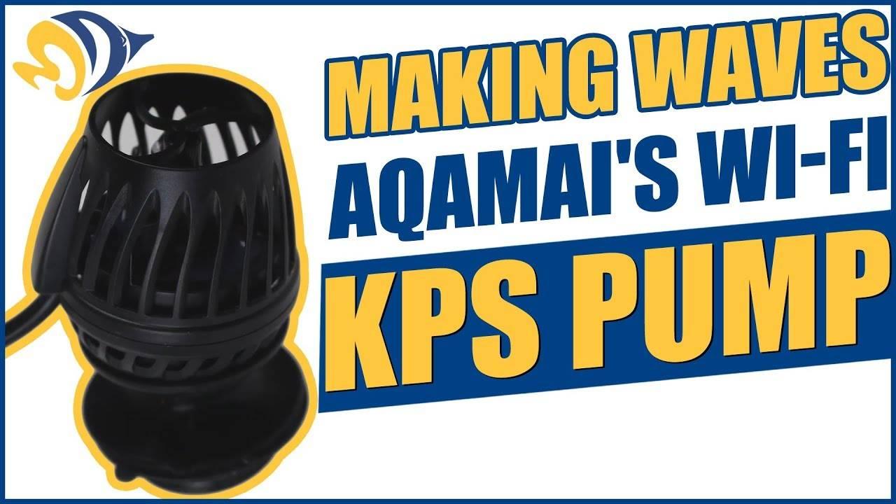 Making Waves with Aqamai's Tiny Wi-Fi Controllable KPS Pump
