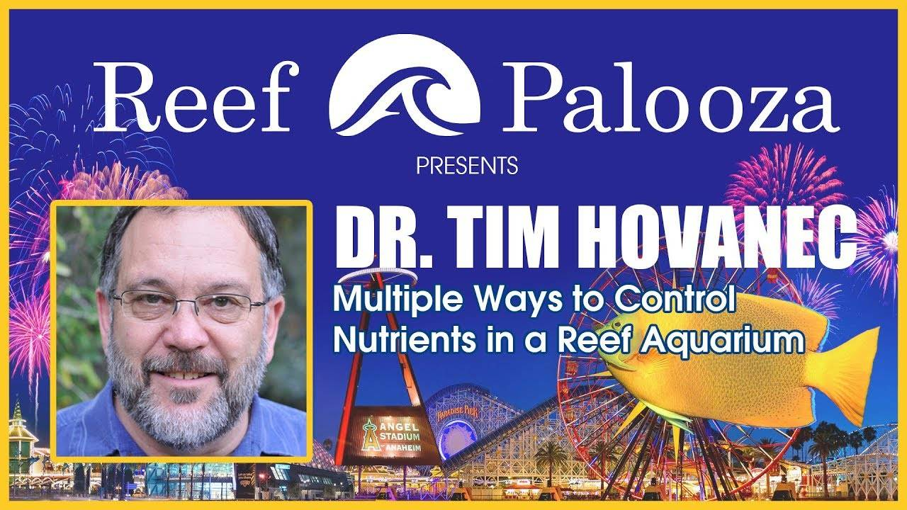 Dr. Tim Hovanec: Multiple Ways to Control Nutrients in a Reef Aquarium | Reef-A-Palooza 2018